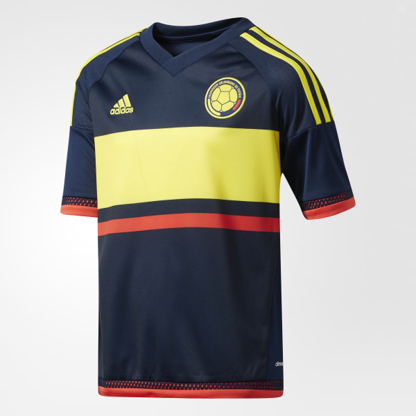 Camiseta de visitante de Colombia COLLEGIATE NAVY BRIGHT YELLOW BRIGHT RED  M62766 fea22139a677f