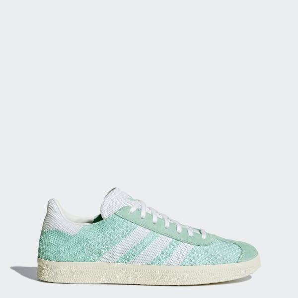 new photos 8a112 79281 Gazelle Primeknit Shoes Easy GreenFootwear WhiteChalk White BB5210