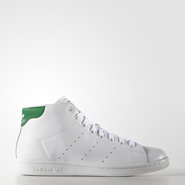 adidas Men s Stan Smith Mid Shoes - White   adidas Canada 5843224b06bd