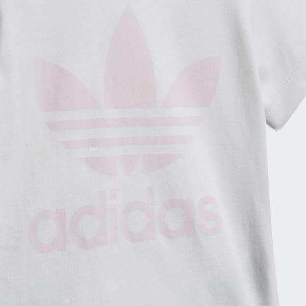 ae4bd461e adidas Shorts and Tee Set - White   adidas Finland