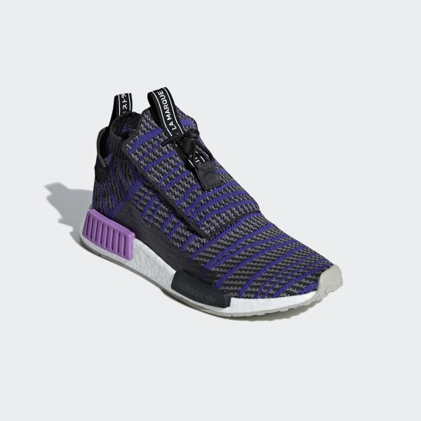 280433a54174d NMD TS1 Primeknit Shoes Carbon   Energy Ink   Grey Four BB9177