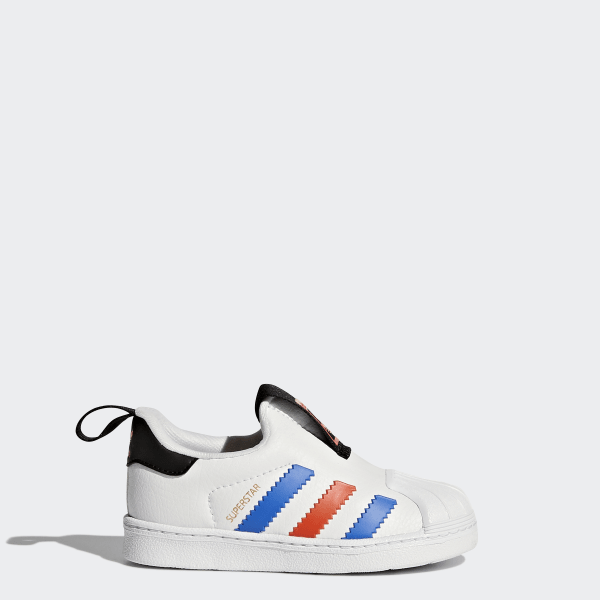 purchase cheap a00ef ae61d Zapatillas Superstar 360 FTWR WHITE BLUE BOLD ORANGE BY9937