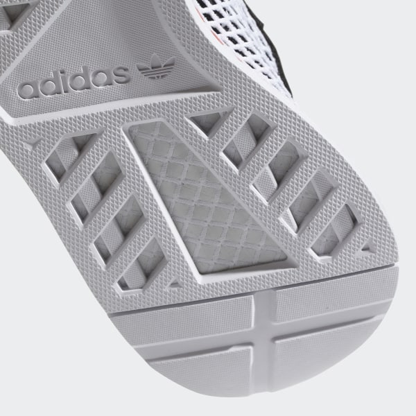 15518f45566 Deerupt Runner Shoes Core Black   Easy Green   Cloud White B28076