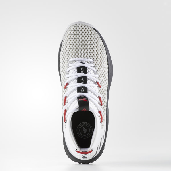 sports shoes bed07 3497a Dame 4 Shoes Cloud White  Core Black  Scarlet BY3759