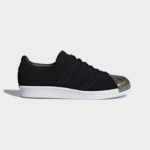 b1cea65f7de Sapatos Superstar 80s MT Black   Maroon   Maroon   Ftwr White CQ3106