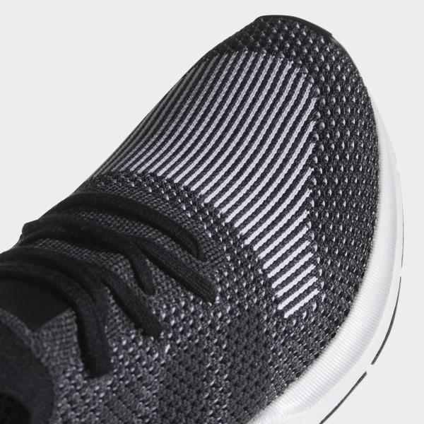 f08cbfdfdf33b Swift Run Primeknit Shoes Core Black   Grey Five   Medium Grey Heather  CQ2889