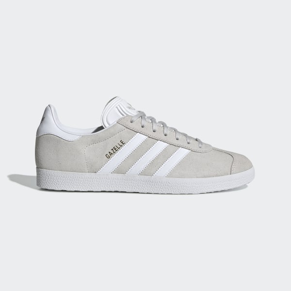 new style aa4a2 c87a4 Gazelle Schuh Grey One   Ftwr White   Gold Met. F34053