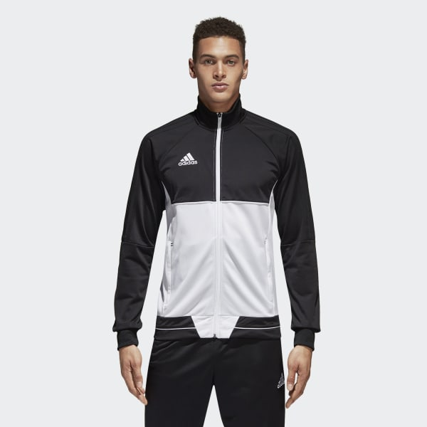 cheap for discount 8ed09 23be6 Tiro 17 Training Jacket Black   White BQ2598