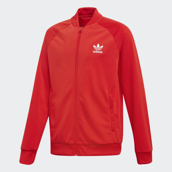 Chaqueta SUPERSTAR TOP active red FI0539 f3f9f85cafe26