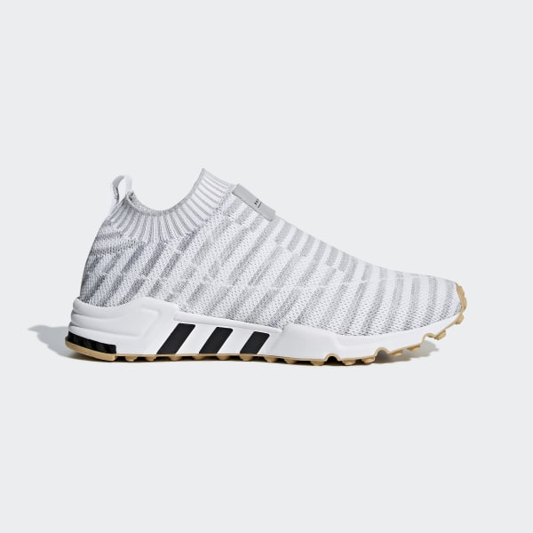 detailed look d5a03 bcdb9 EQT Support Sock Primeknit Shoes Ftwr White  Crystal White  Gum 3 B37534