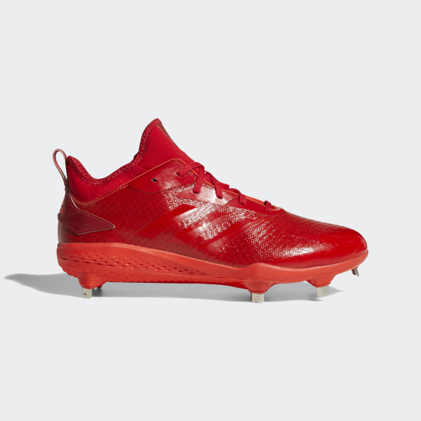 5a3f8eb12a4 Adizero Afterburner V Dipped Cleats Hi-Res Red   Scarlet   Solar Red AQ0086