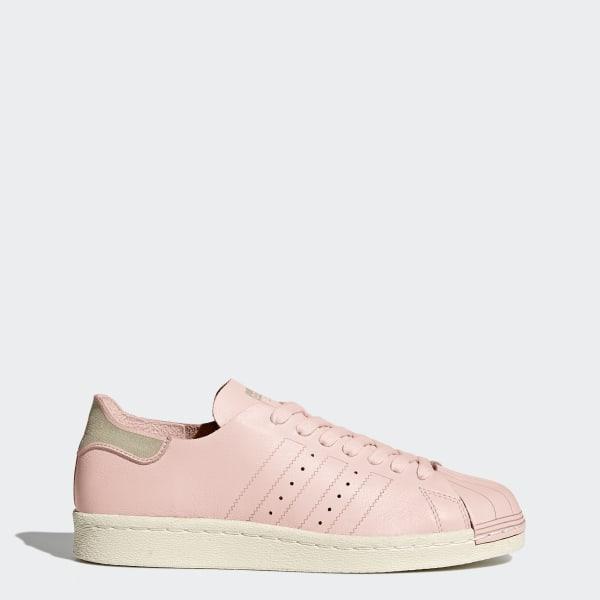 half off 28045 e79f7 Chaussure Superstar 80s Decon Icey Pink   Icey Pink   Off White BZ0500