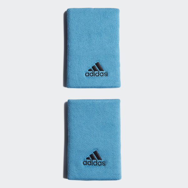 64361c55be04 adidas Tennis Wristband Large - Blue
