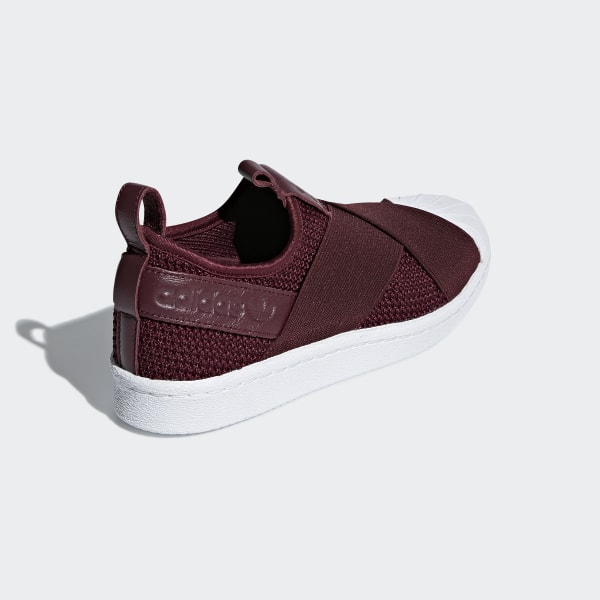 ba43821f2640 Superstar Slip-on Shoes Red Night   Red Night   Cloud White B37371