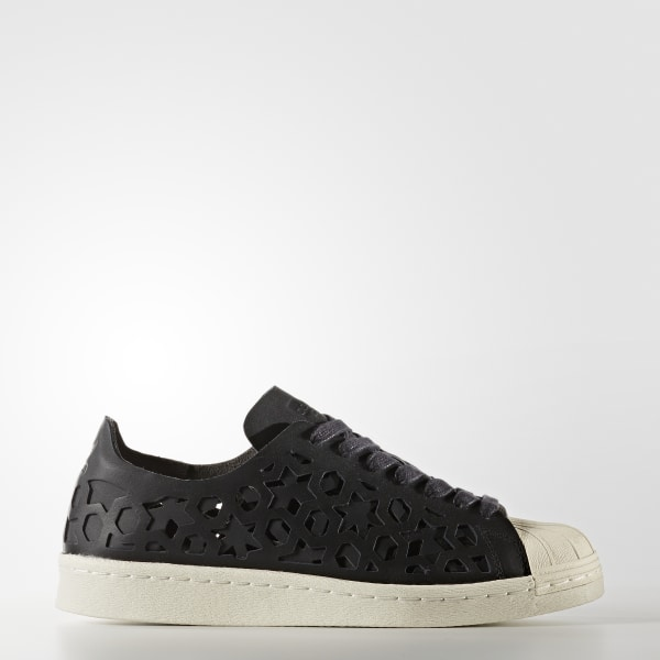 Superstar 80s Cut-Out Schuh Core Black Core Black Off White BY2120 c6712fc3f6