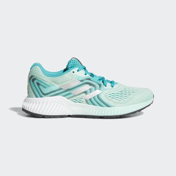 online retailer e899b 59dc9 Aerobounce 2 Shoes Hi-Res Aqua  Silver Metallic  Clear Mint AQ0538