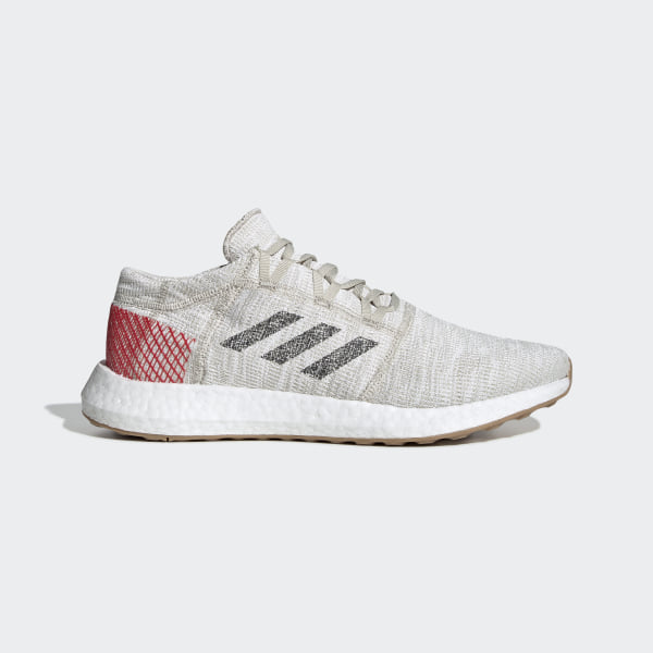 online store 1a925 99d0c Pureboost Go Skor Clear Brown   Carbon   Active Red B37805
