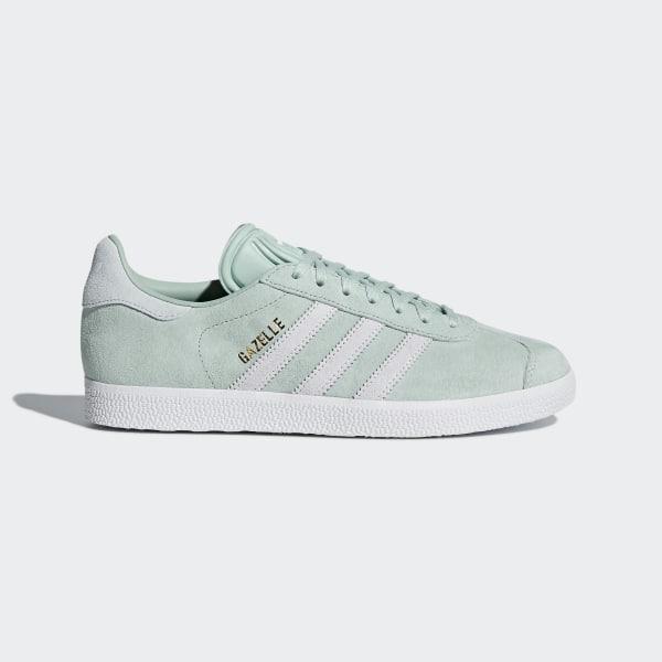 separation shoes 45706 fc774 Gazelle Shoes Ash Green  Cloud White  Blue Tint CQ2189