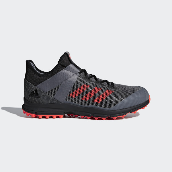 eee55a64b025 Zone Dox Shoes Core Black   Solar Red   Grey Four AC8779
