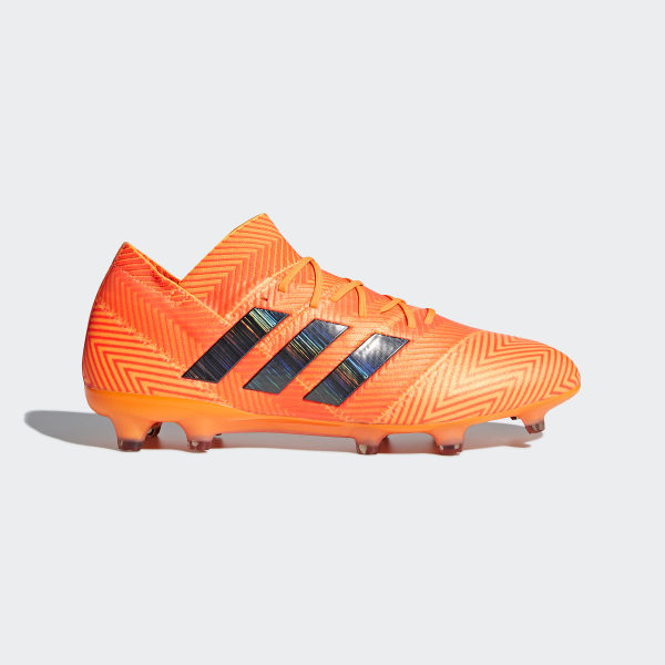 Zapatos de Fútbol Nemeziz 18.1 Terreno Firme ZEST CORE BLACK SOLAR RED  DA9588 ce85069c42add