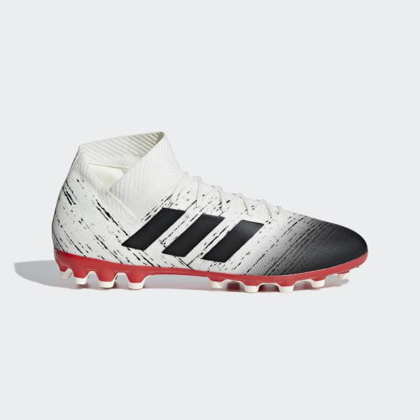 Bota de fútbol Nemeziz 18.3 césped artificial Off White   Core Black   Active  Red D97983 4a0aaa7080235