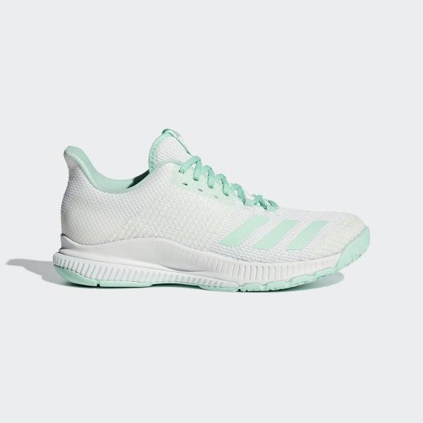 197588de231 Sapatos Crazyflight Bounce 2.0 Ftwr White   Clear Mint   Clear Mint BC1030