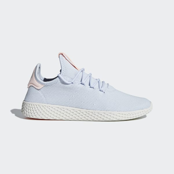 32fa0b1e5 Tênis Pharrell Williams Tennis Hu AERO BLUE S18 AERO BLUE S18 CHALK WHITE  B41884