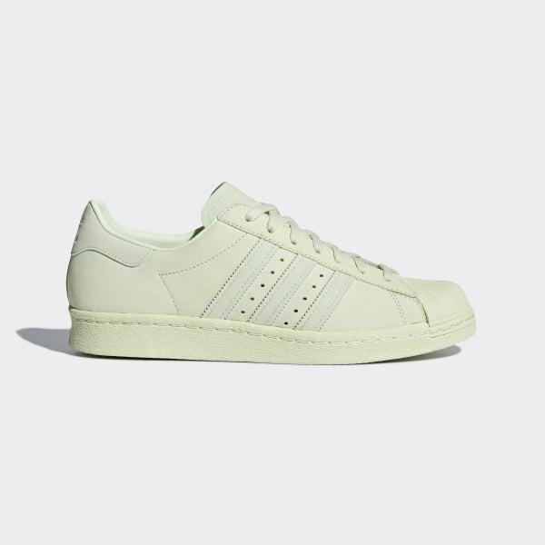 Chaussure Superstar 80s - vert adidas | adidas