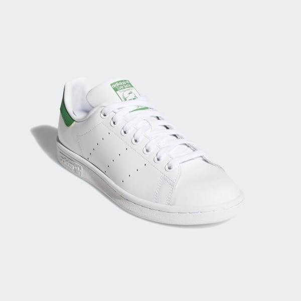 Stan Smith Shoes Cloud White / Cloud White / Green B24105