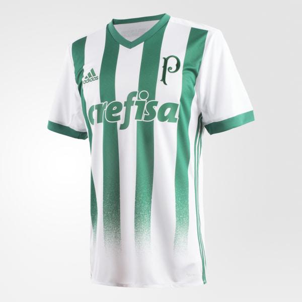 Camisa Palmeiras 2 WHITE BOLD GREEN BK7507 86a8e7d8f9ca5