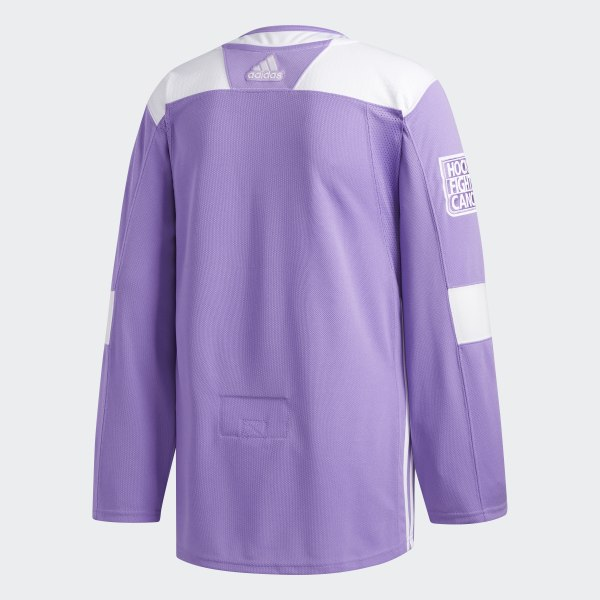 adidas Flyers Hockey Fights Cancer Authentic Jersey - White  f6ee606e4