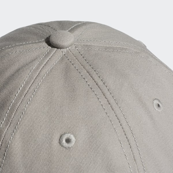64f690fd605 Trefoil Classic Cap Medium Grey Heather   White BK7282