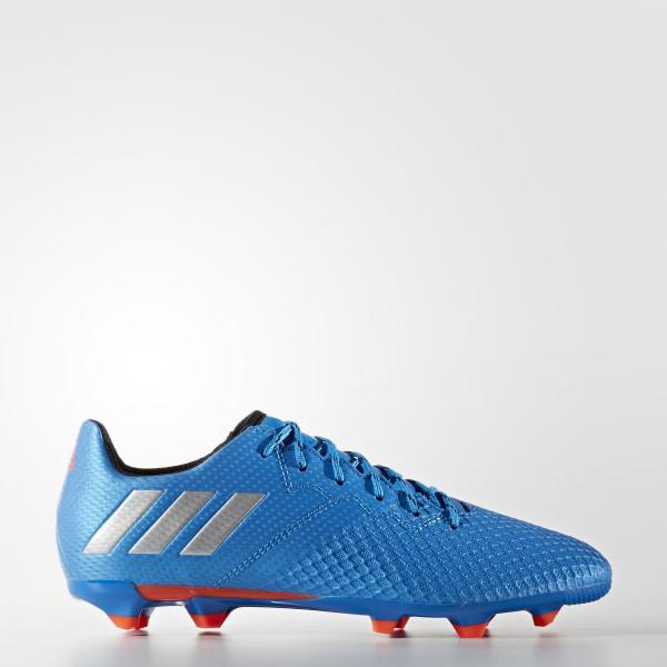 Guayos Superficie Firme Messi 16.3 SHOCK BLUE MATTE SILVER CORE BLACK S79622 c9d418d18a5ba