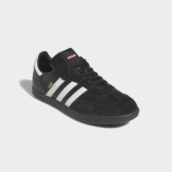 f0bf9ee1e0c3cc Samba Leather Shoes Black Footwear White 019000