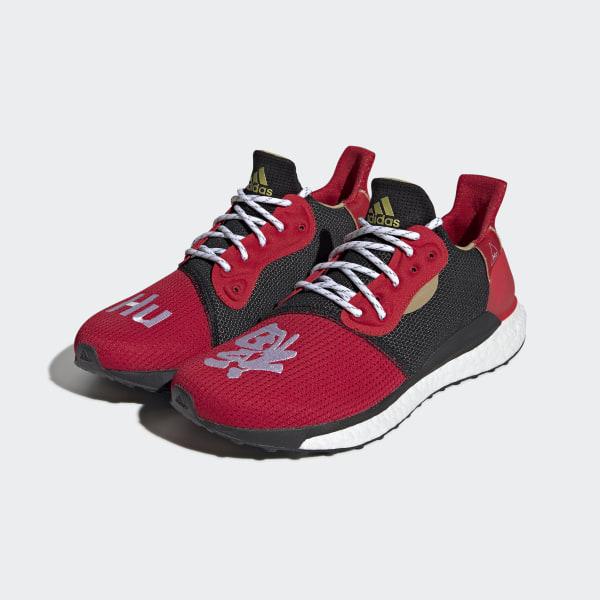 e7f0cd390 CNY Solar Hu Glide Shoes Black   Black   Black EE8701