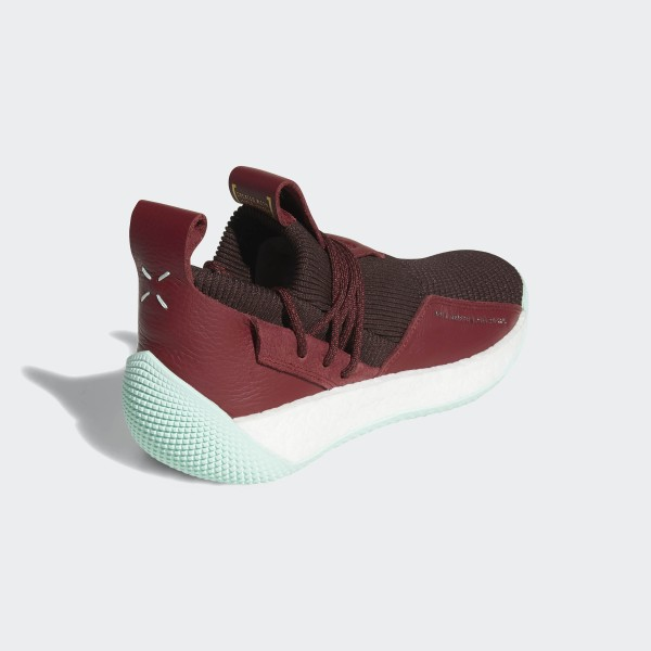 dba59fd883ea2 Harden Vol. 2 LS Shoes Night Red   Noble Maroon   Clear Mint CG6277
