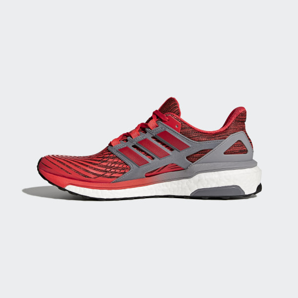 wholesale dealer b49d1 2c72e Energy Boost Shoes Hi-Res Red  Hi-Res Red  Grey CP9538