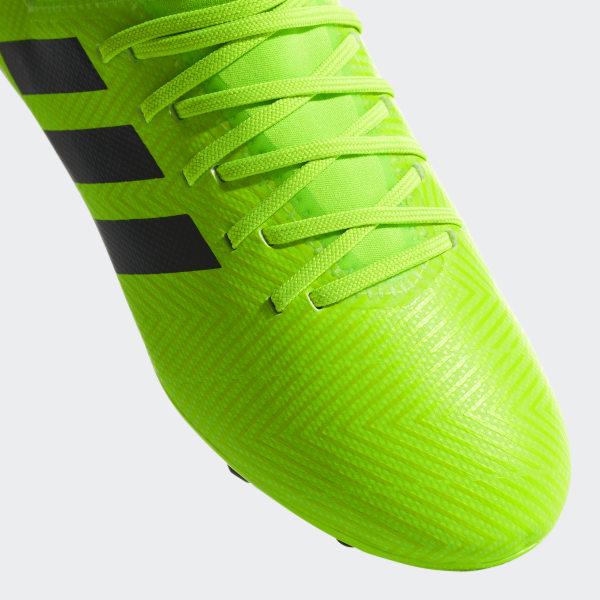 Botines Nemeziz Messi 18.3 Terreno Firme SOLAR GREEN CORE BLACK SOLAR GREEN  DB2367 323aa83de442b