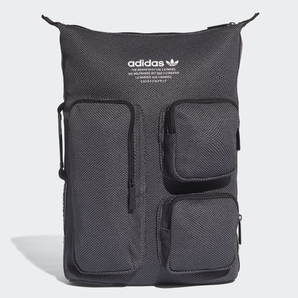 Mochila adidas NMD BLACK GREY FIVE F17 DH3078 535a1a20b2878
