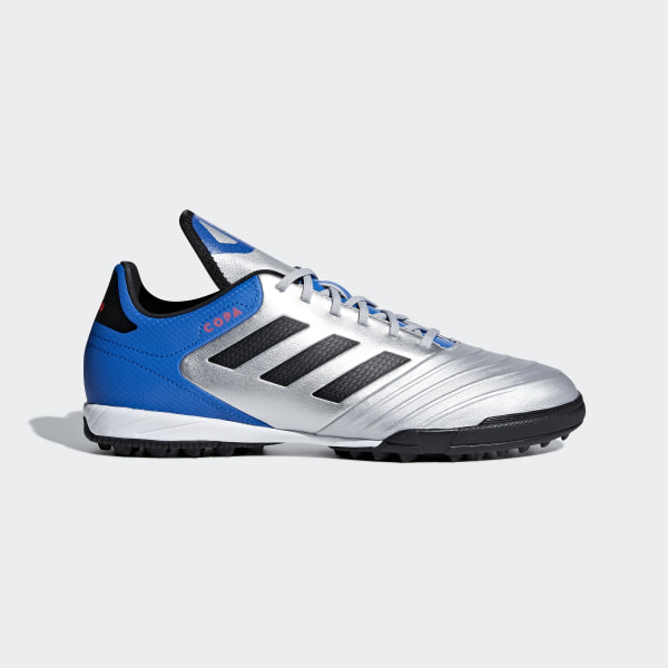 4a2e5108e Chuteira Copa Tango 18.3 Society SILVER MET. CORE BLACK FOOTBALL BLUE DB2410