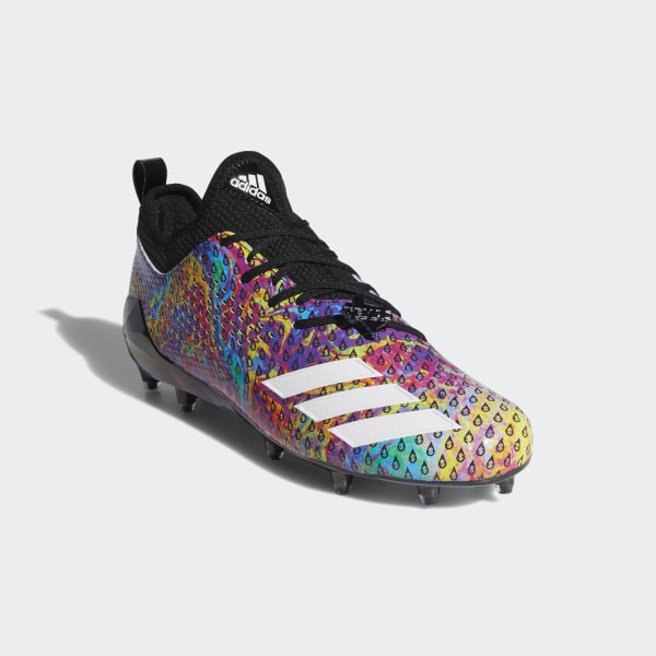 timeless design 973ee beee5 Adizero 5-Star 7.0 Adimoji Cleats Core Black  Multicolor  Cloud White   Core