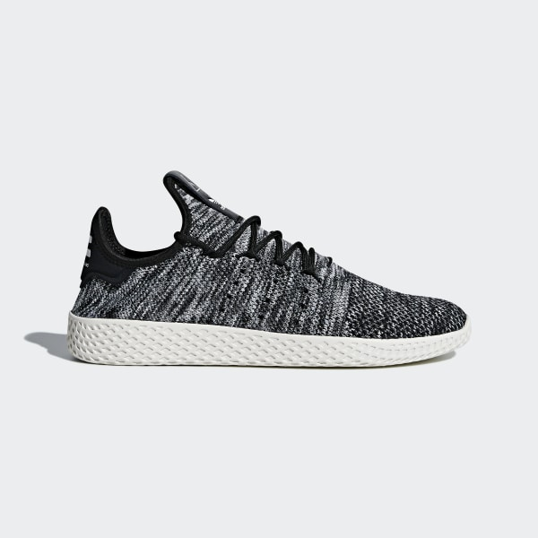 781673dc8 Pharrell Williams Tennis Hu Primeknit Shoes Chalk White   Core Black    Cloud White CQ2630