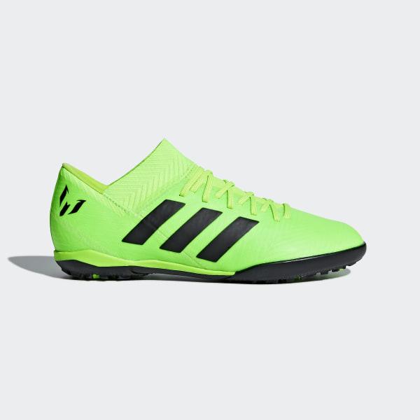 c794719e79c31 Calzado de fútbol Nemeziz Messi Tango 18.3 Césped Artificial Niño SOLAR  GREEN CORE BLACK