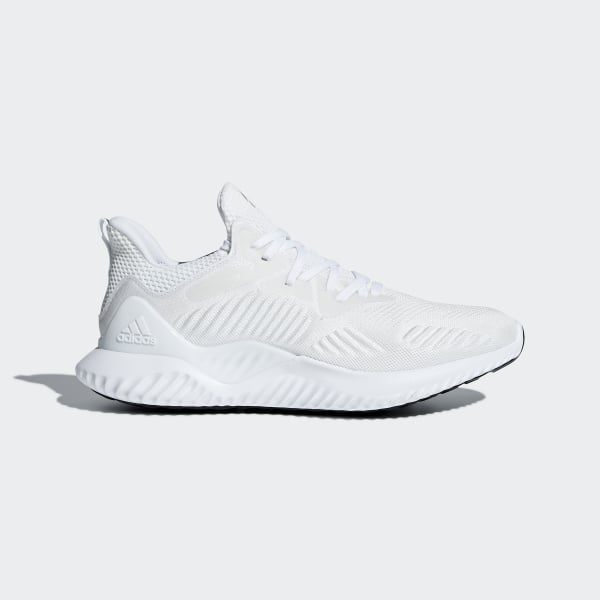 5ec459912 Alphabounce Beyond Shoes Cloud White   Silver Metallic   Cloud White AC8274