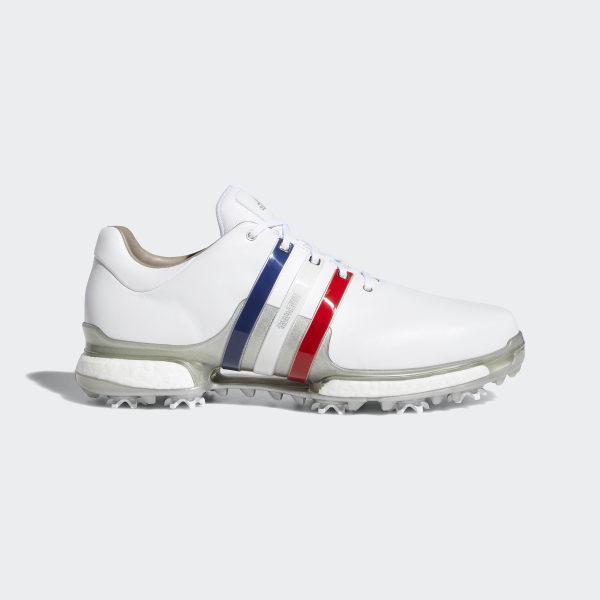 size 40 8af5e d394d Tour 360 Boost 2.0 Shoes Cloud White  Scarlet  Silver Metallic AQ0630