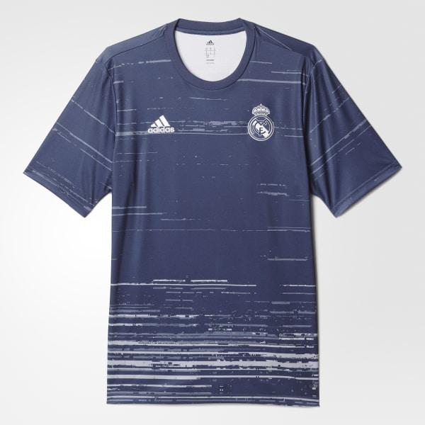 3cafd48d02 Camisa Real Madrid Pré-Jogo 1 RAW PURPLE SUPER PURPLE LIGHT GREY AZ3888