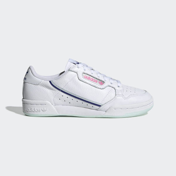 brand new c8121 c5d16 Tenis Continental 80 Ftwr White   Ice Mint   Active Blue G27725