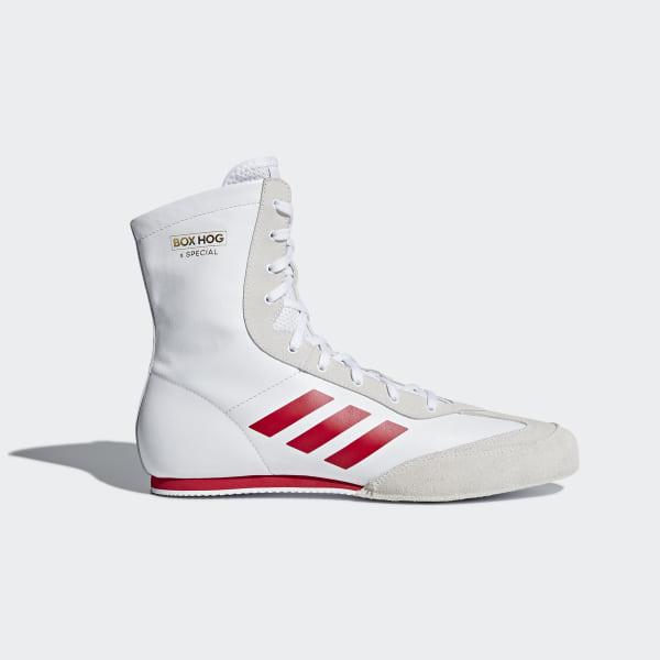 online store 089e7 cf53d Box Hog x Special Shoes Cloud White  Scarlet  Gold Metallic AC7148
