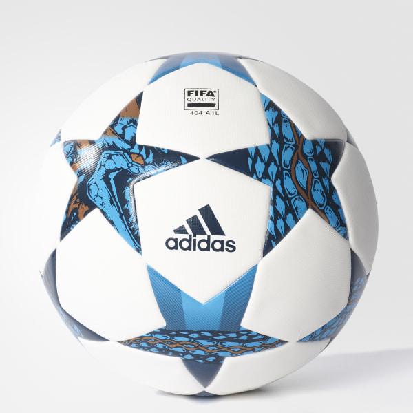 Finale Cardiff Top Soccer Ball White   Mystery Blue   Cyan AZ9609 776c351900528