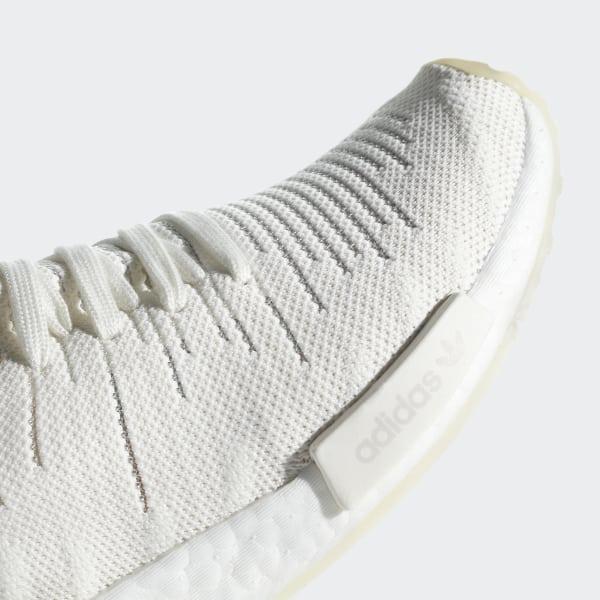 b37a74f91 NMD R1 STLT Primeknit Shoes Running White   Running White   Clear Orange  B37655